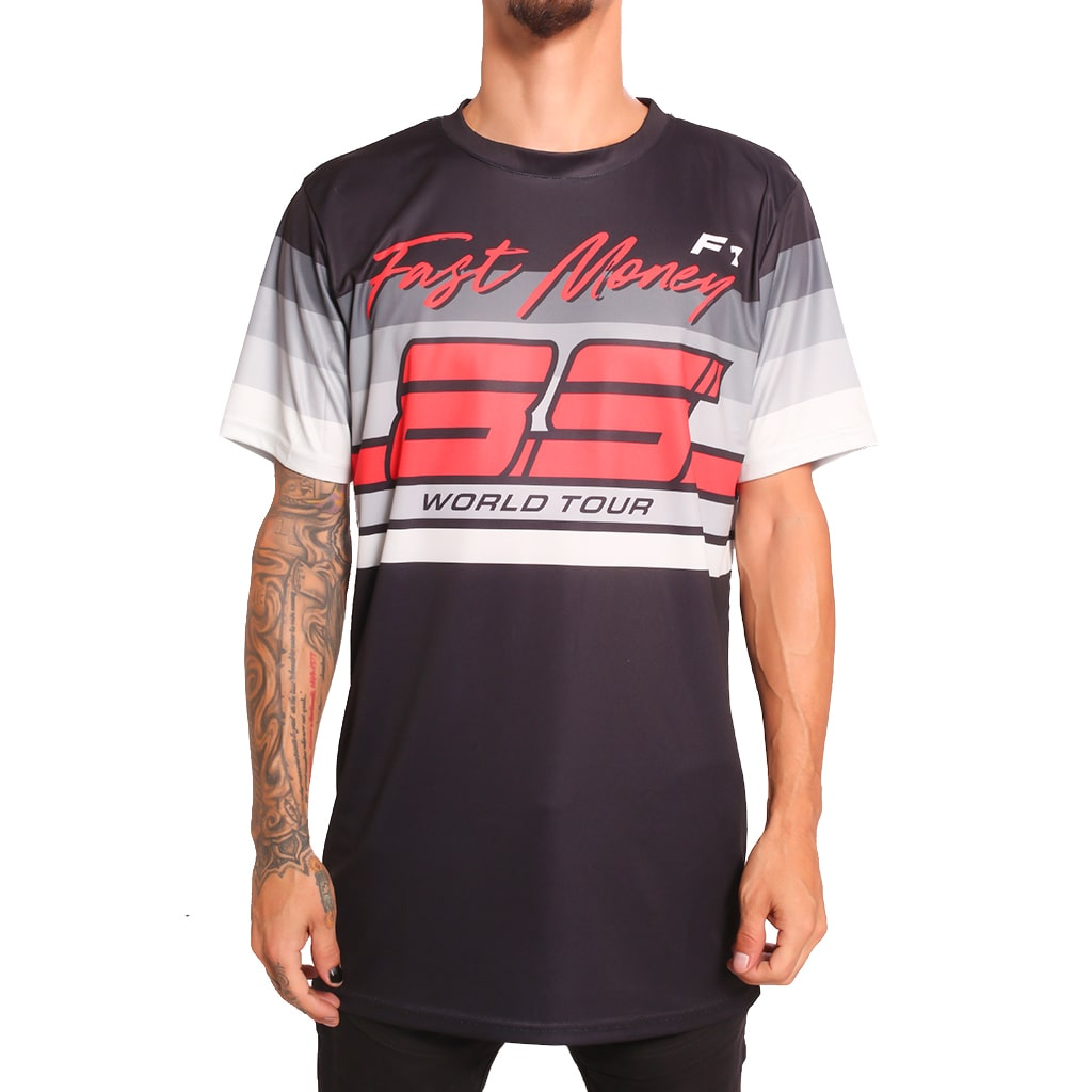 F1 World Tour Shirt Black Cement