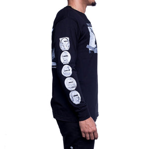 Faces Long Sleeve T Shirt_002