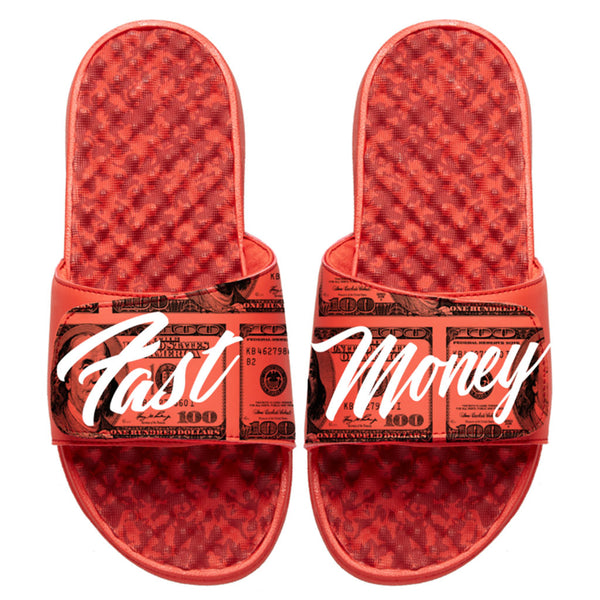 Fast Money Print Slides Red