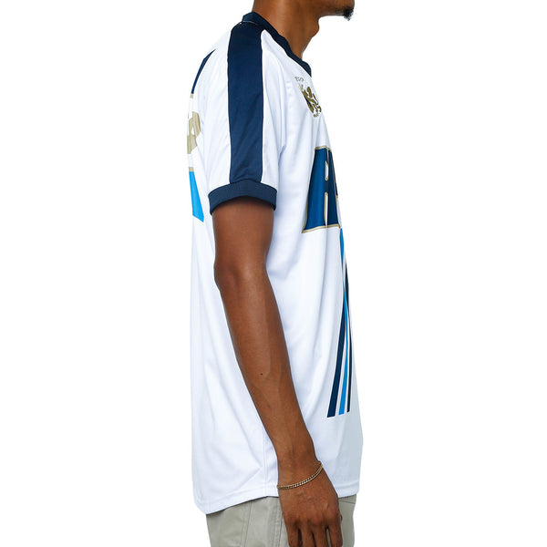 Fire Soccer Jersey White right