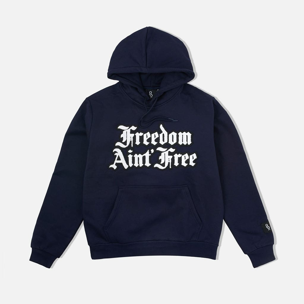 Freedom Pullover Hoodie Navy