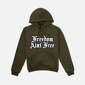 Freedom Pullover Hoodie Olive