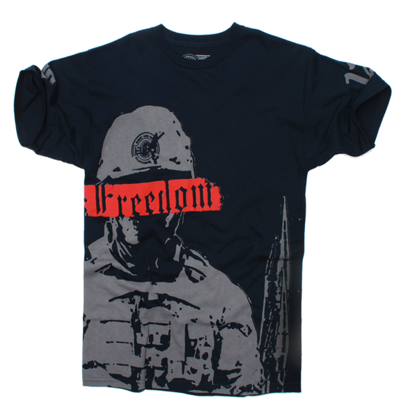 Freedom 2012 Navy T Shirt - 2