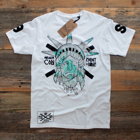 Freehand Profit x Sneaker Con Liberty Tee Collab - 1