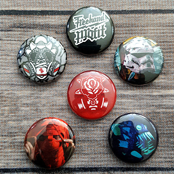 Freehand Profit 6 Button Add On - 6 Button Pins Only $5