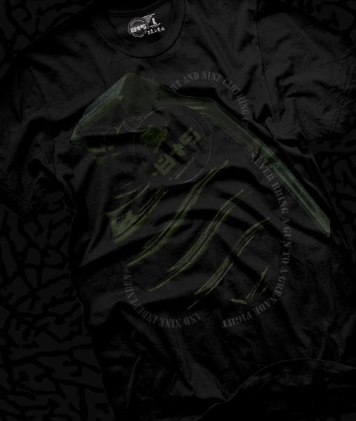 Grenade Fight Dark Pine Foamposite Pro T Shirt - 1
