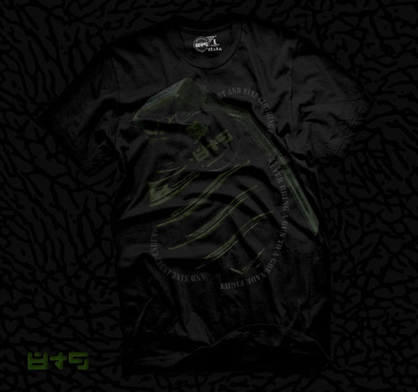 Grenade Fight Dark Pine Foamposite Pro T Shirt - 2