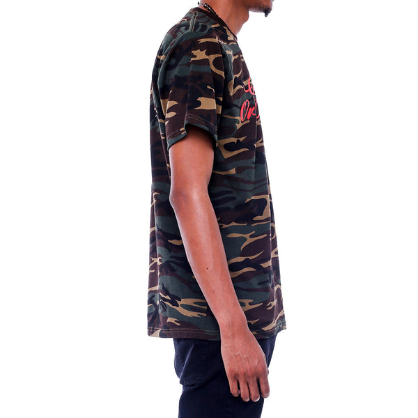 Get Rich Camo T Shirt side