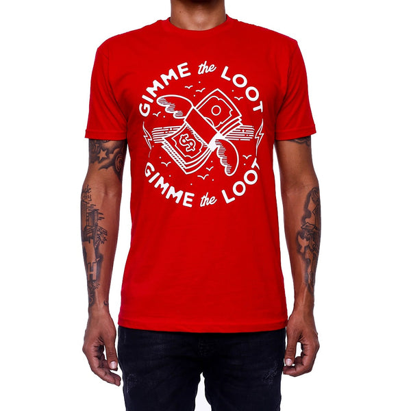 Gimme The Loot Red Emoji Shirt