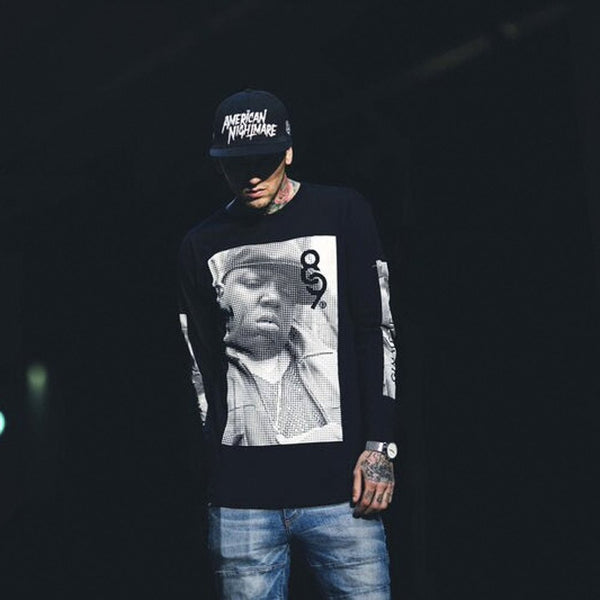Gimme The Loot L/S Tee Black