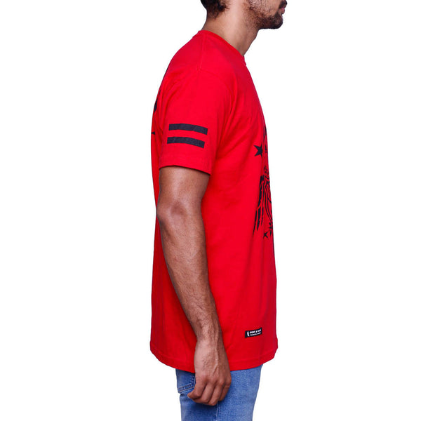 Goons Eagle Tee Red side 1