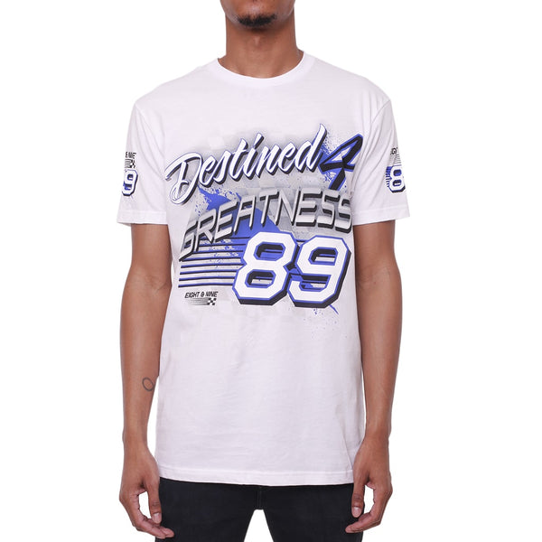 Greatness Racing T Shirt Game Royal 1