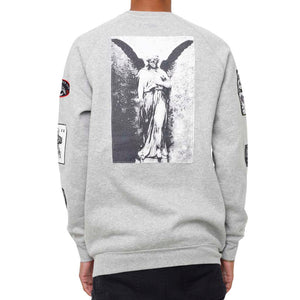 Grief Patched Out Sweatshirt Heather
