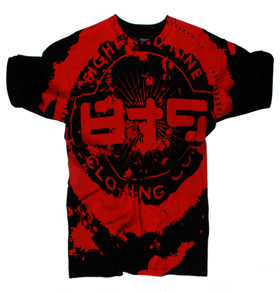All Over Grunge Logo T Shirt - 2