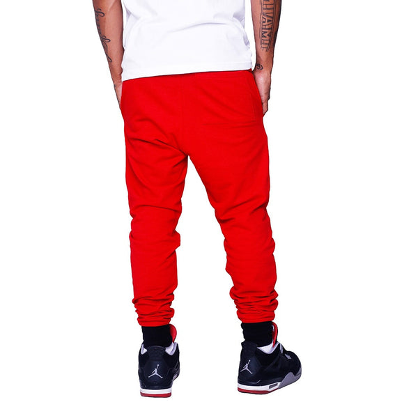 Hardbody Jogger Sweatpants Fire Red back