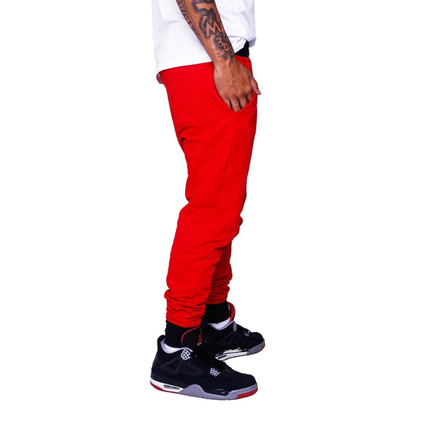 Hardbody Jogger Sweatpants Fire Red right