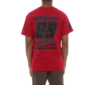 Hardearnt T Shirt Red