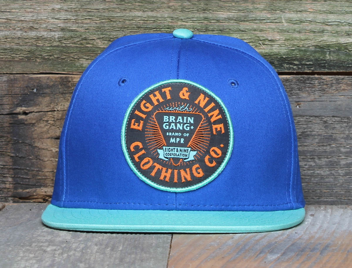 BG Brand Royal Mint Strapback Hat