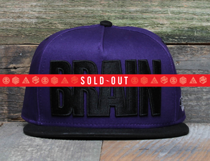Purple BRAIN Gang Snapback