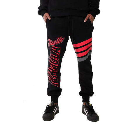 Hustle Formula Black Premium Mens' Sweatpant