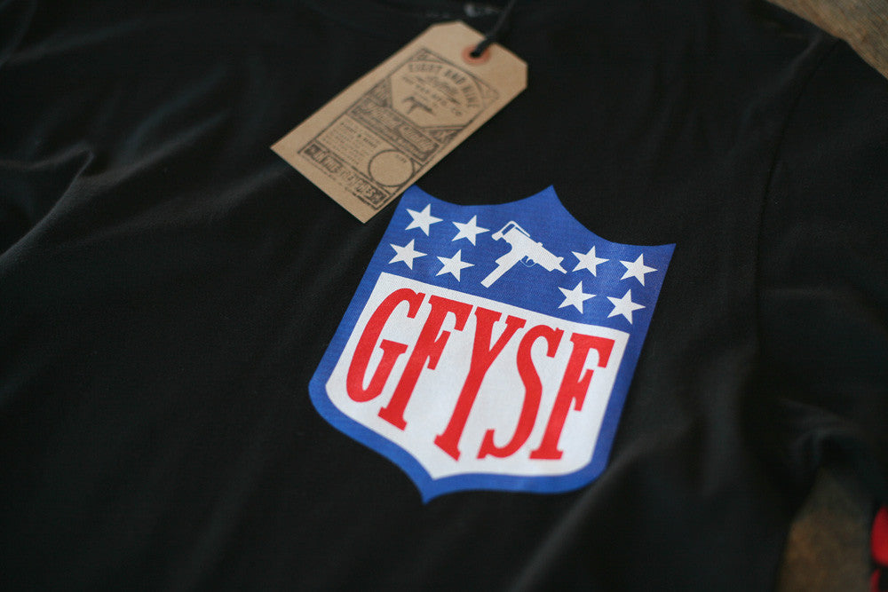 GFYSF League Jersey Tee Black L/S - 2