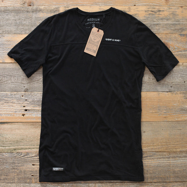Perfect Football Tee Black - 1