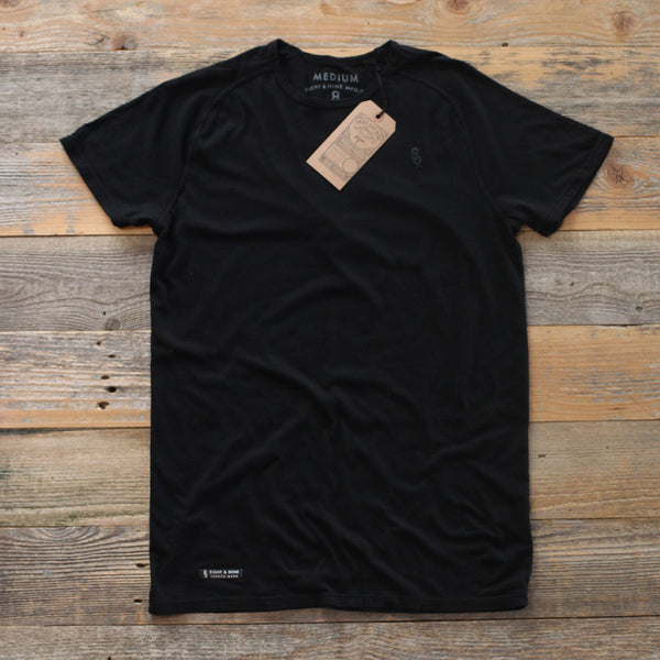 Perfect Raglan Tee Black