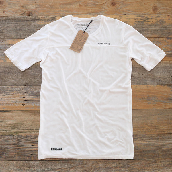 Perfect Football Tee Pure White