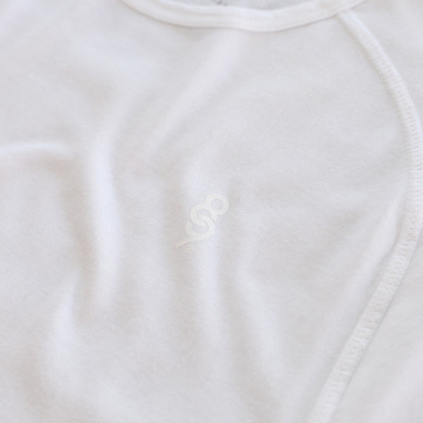 Perfect Raglan Tee Pure White - 4