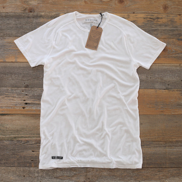 Perfect Raglan Tee Pure White