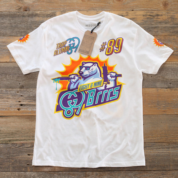 Brrrs Jersey Tee White - 1
