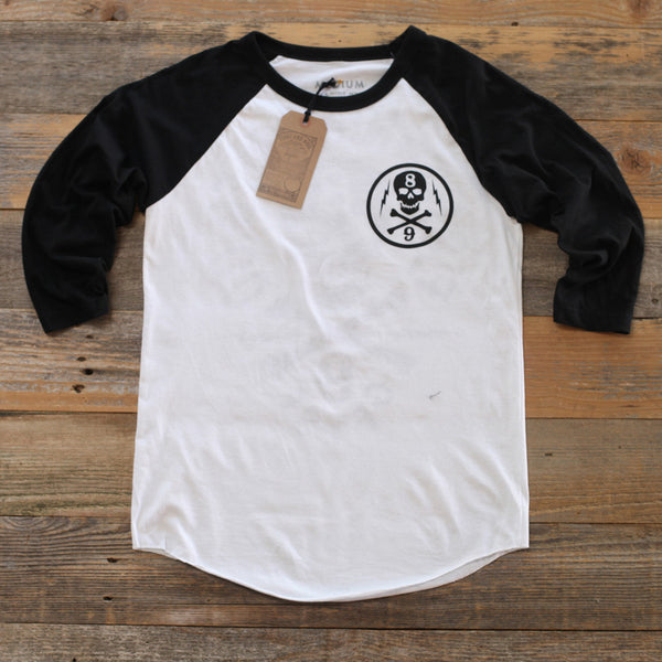 Black Beard 3/4 Sleeve Raglan - 1