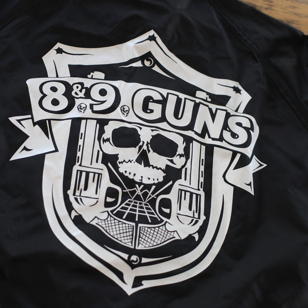 89 Guns Coaches Jacket Black - 2