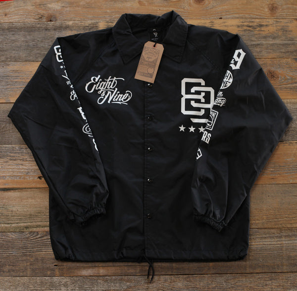 Rise Above Coaches Jacket Black