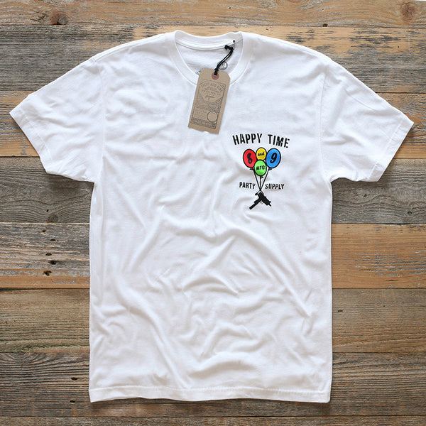 Party Supply Classic Tee White