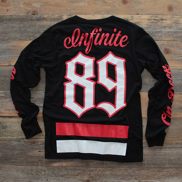 On Deck Jersey Tee Bred L/S - 2