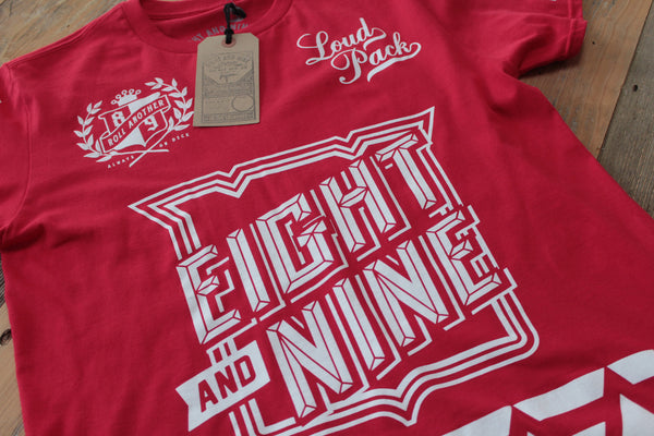 SmokeTree Hockey Jersey Tee Red - 3