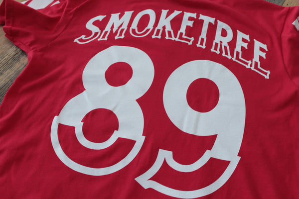 SmokeTree Hockey Jersey Tee Red - 5
