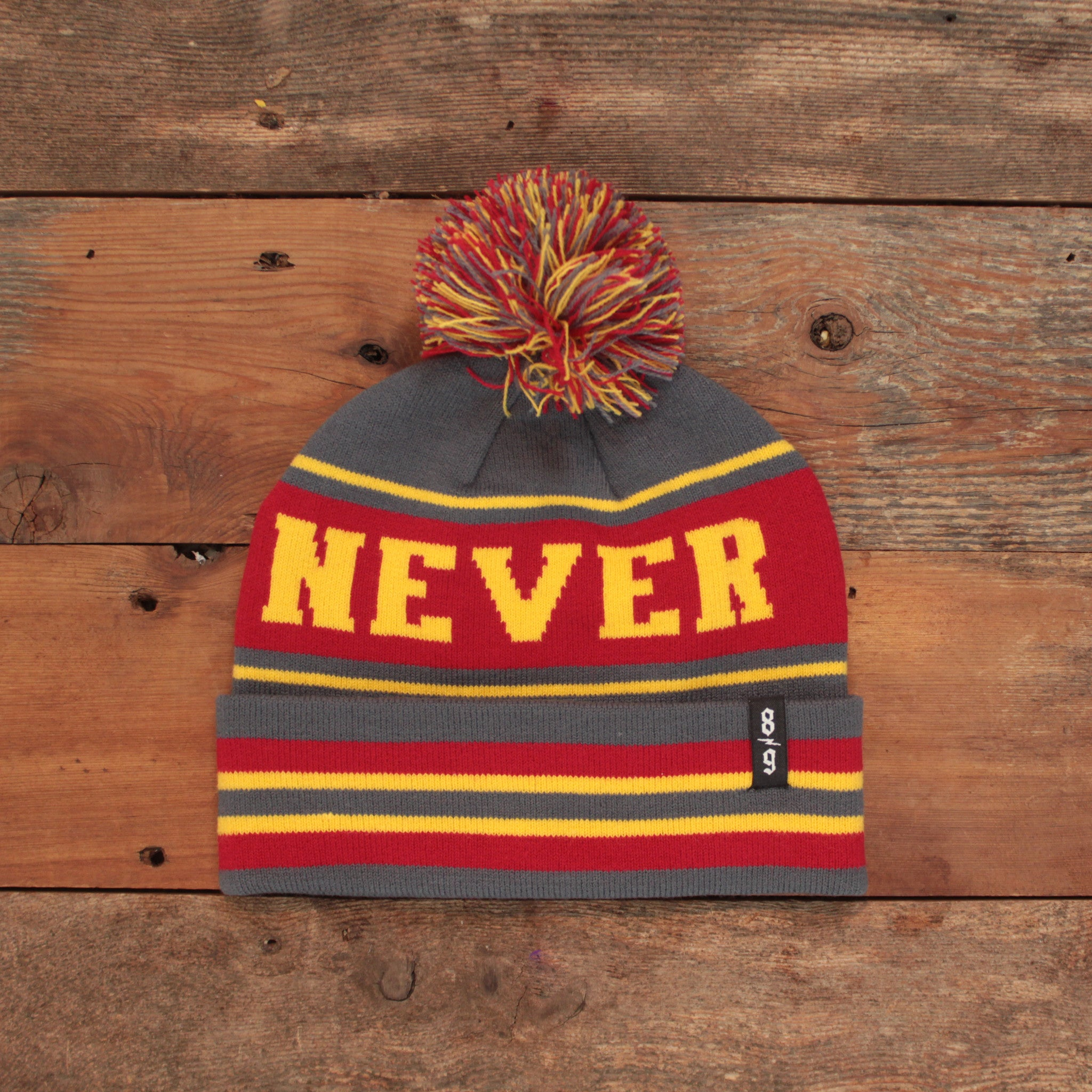 Never Sleep Cuffed Beanie