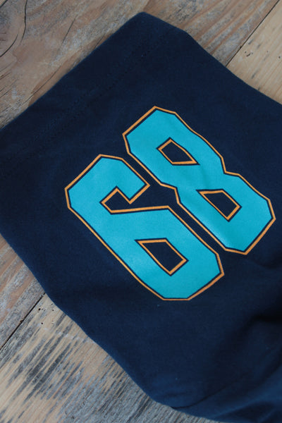 Miami FL Mash-Up Jersey Tee Navy - 5