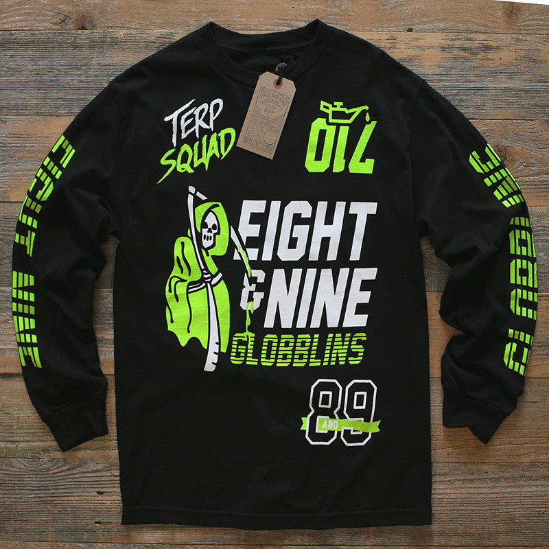 710 Terp Squad Jersey Black L/S - 1