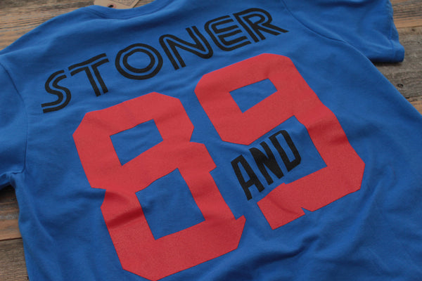 Team Stoner Jersey Tee Royal - 5