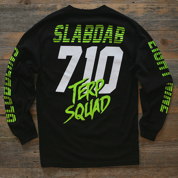 710 Terp Squad Jersey Black L/S - 2