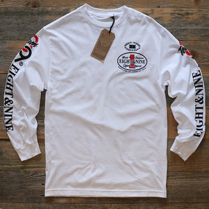 Offshore Imports L/S Tee White - 1