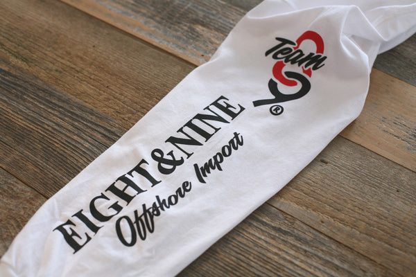 Offshore Imports L/S Tee White - 5