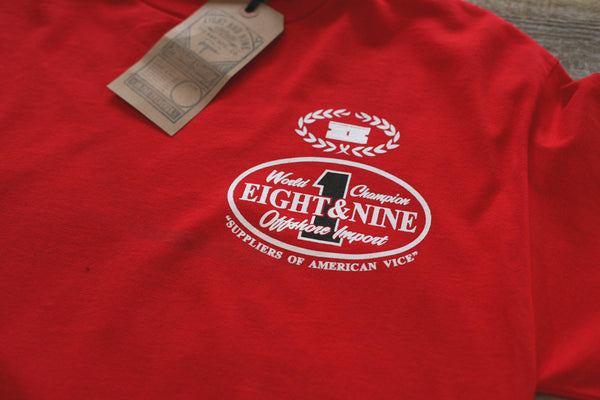 Offshore Imports L/S Tee Red - 3