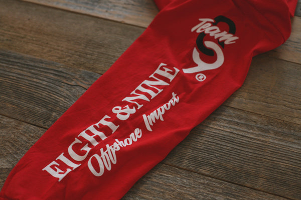 Offshore Imports L/S Tee Red - 5