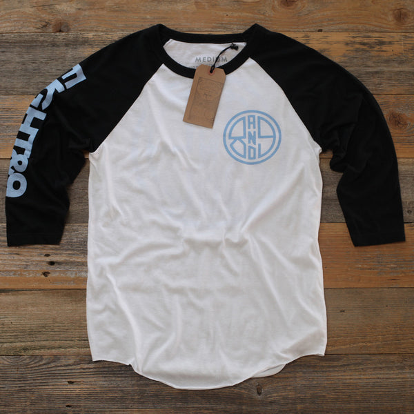 Finish Line 3/4 Sleeve Raglan Powder - 1