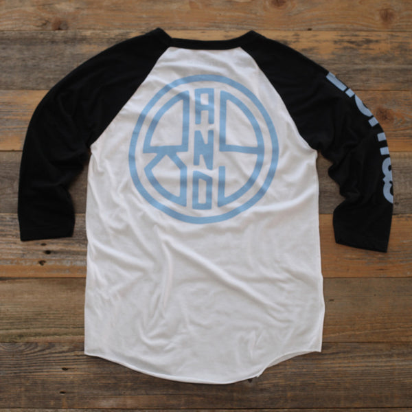 Finish Line 3/4 Sleeve Raglan Powder - 2