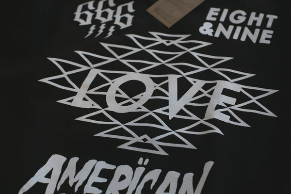 Love Hooded Sweatshirt Black - 4